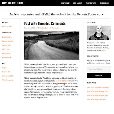 StudioPress eleven40 Pro Genesis WordPress Theme
