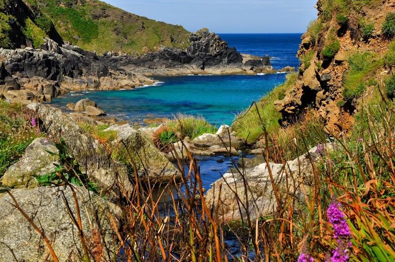 Porthmeor Secret Cove Cornwall
