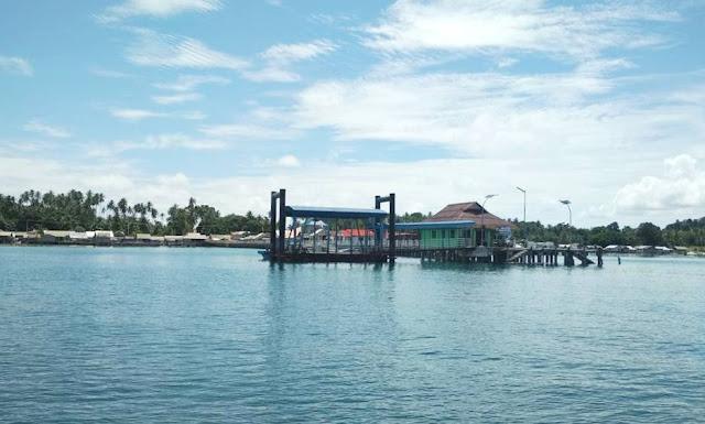Pelabuhan/ jetty pulau benan