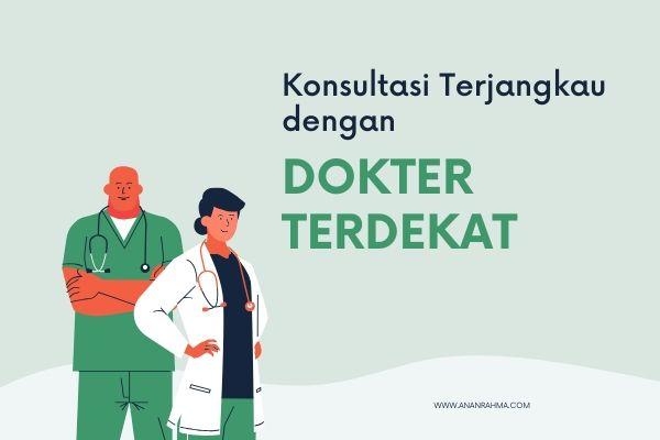 mencari dokter terdekat