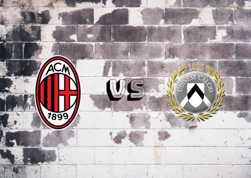 Milan vs Udinese  Resumen y Partido Completo