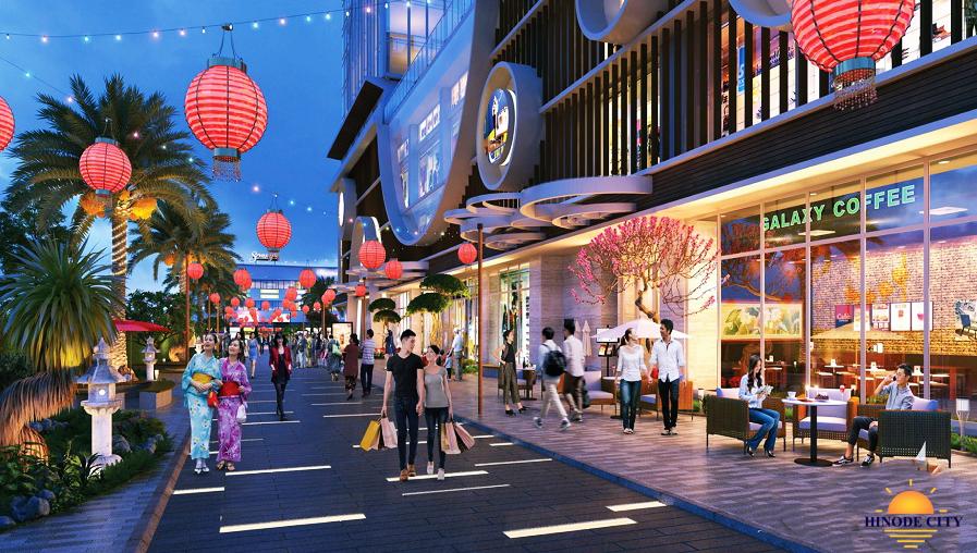 Trung tâm thương mại dự án Hinode City Minh Khai