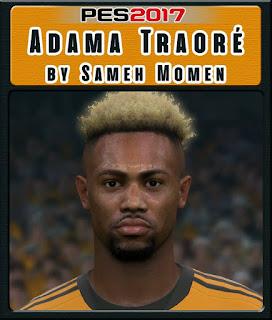 PES 2017 Faces Adama Traoré by Sameh Momen