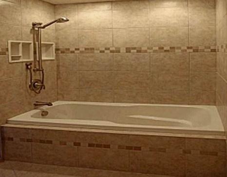 Keramik dinding kamar mandi mewah minimalis
