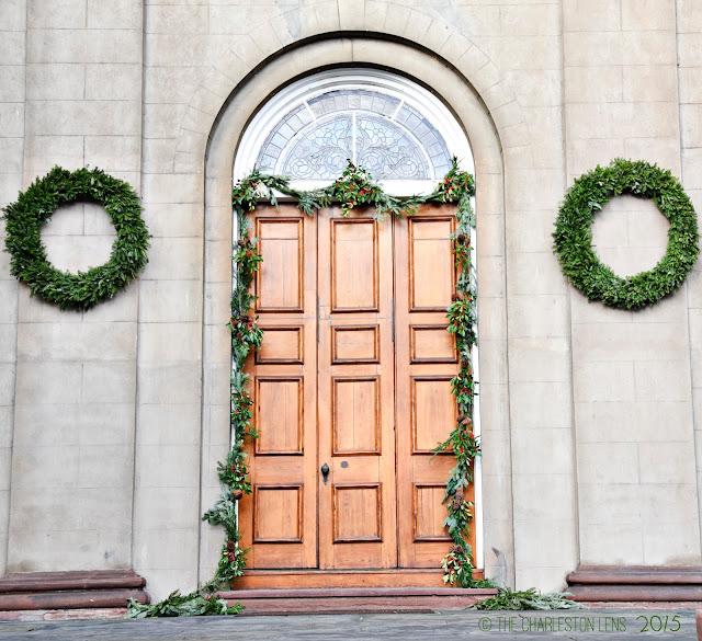 Southern Christmas evergreen Design