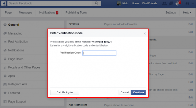 FB Verification Option 2