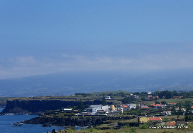 ruta en coche por las Azores