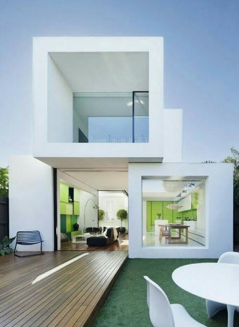 2-storey wooden house design