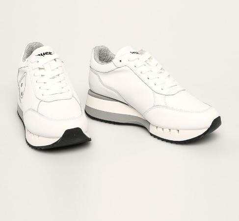 Adidasi femei din piele originali albi de firma Blauer