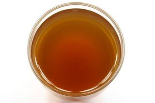 少し渋みのあるチェストツリーのお茶
