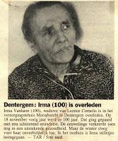 Irma Van Laere 1890-1991