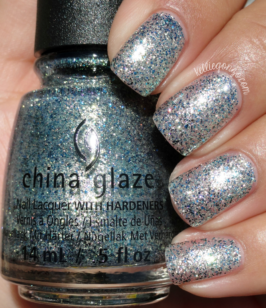 China Glaze Holo At Ya Girl! // @kelliegonzoblog