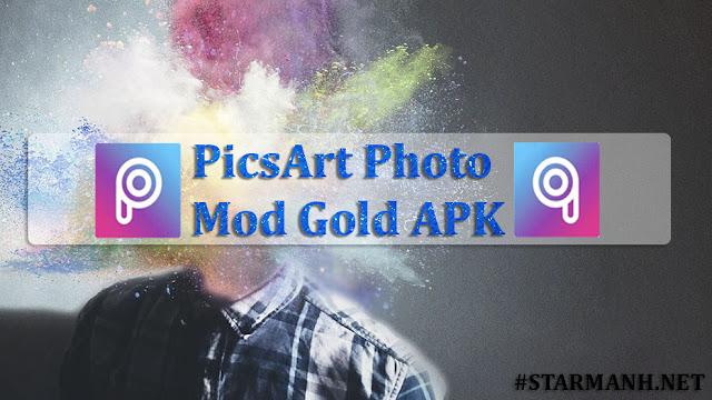 PicsArt Photo Mod Gold APK (V14.4.6)
