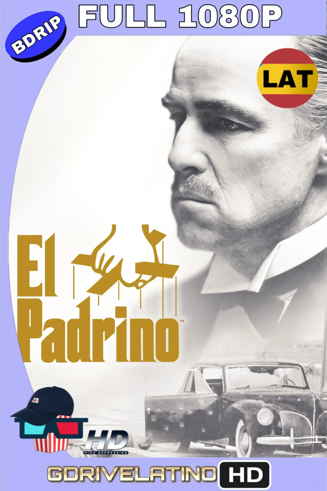 El Padrino (1972) BDRip FULL 1080p (Latino – Inglés) MKV