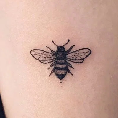 BEST BEE TATTOO DESIGNS YOU'LL FALL IN LOVE WITH
