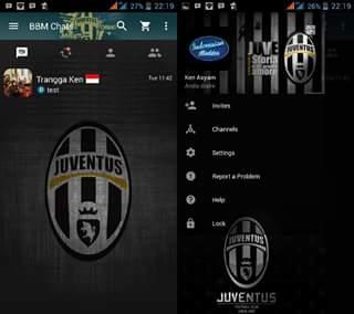 BBM Mod Juventus 3.0.0.18 Terbaru