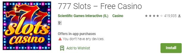 777 Slots Free Casino - Game Terbaik Untuk Android