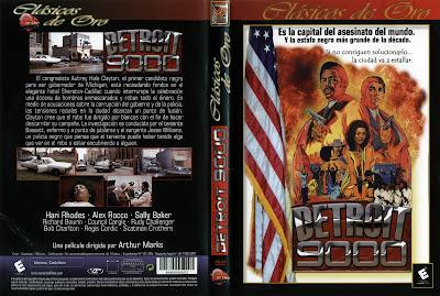 Carátula dvd: Detroit 9000
