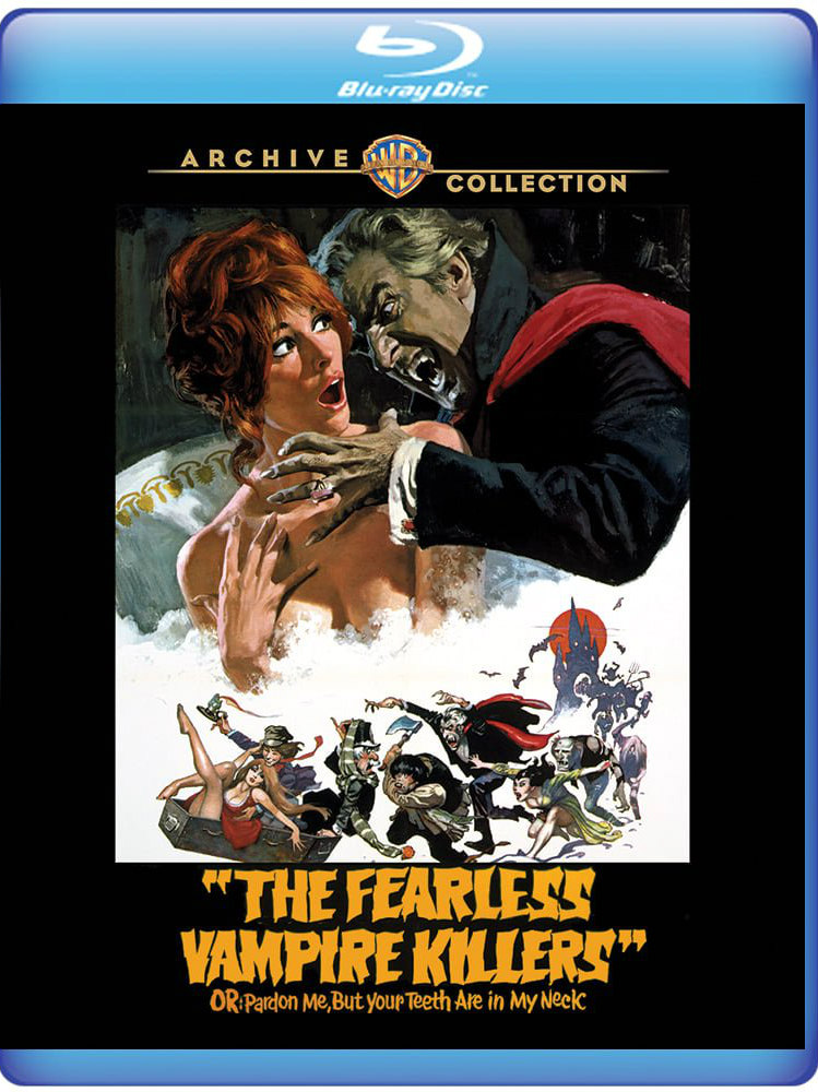 the fearless vampire killers blu-ray
