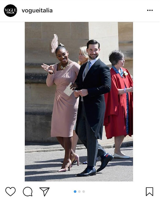 Serena Williams Shoes at the Royal Wedding