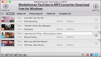 MediaHuman YouTube to MP3 Converter Download Free for Windows