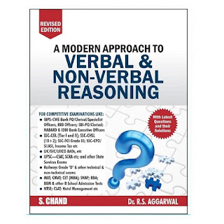 Verbal & Non Verbal Reasoning - S Chand
