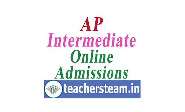 AP Intermediate Online Admissions Process - Apply Online