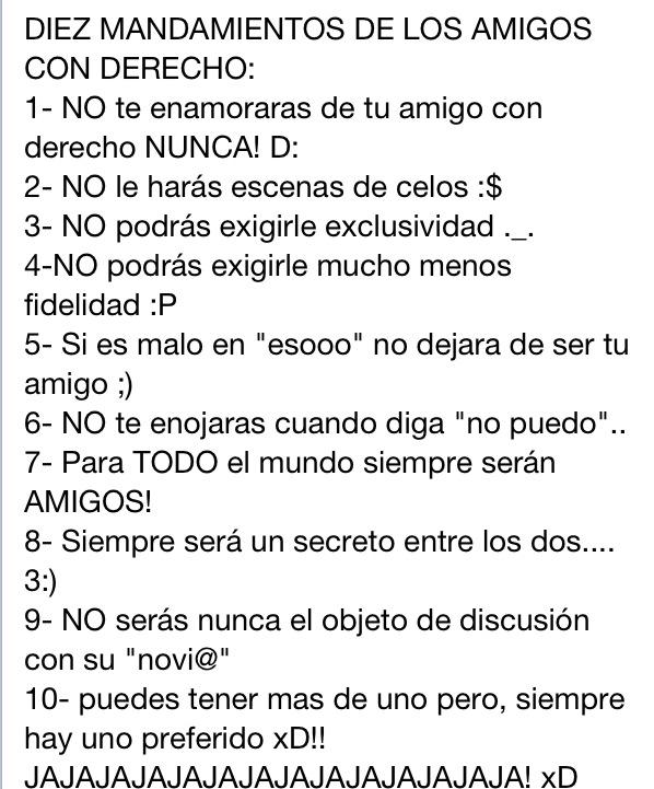 Don Risita Frases Los 10 Mandamiento Del Amigo Con Derecho