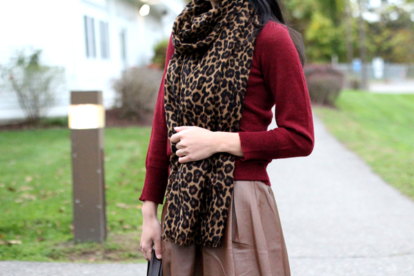 da85a8fb1557b Burgundy and Brown Plus a Touch of Leopard - Elle Blogs