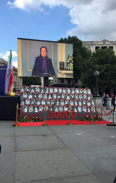 مسيرتان في لندن ولاهاي تطالبان بمحاسبة النظام الإيراني على مجزرة 1988