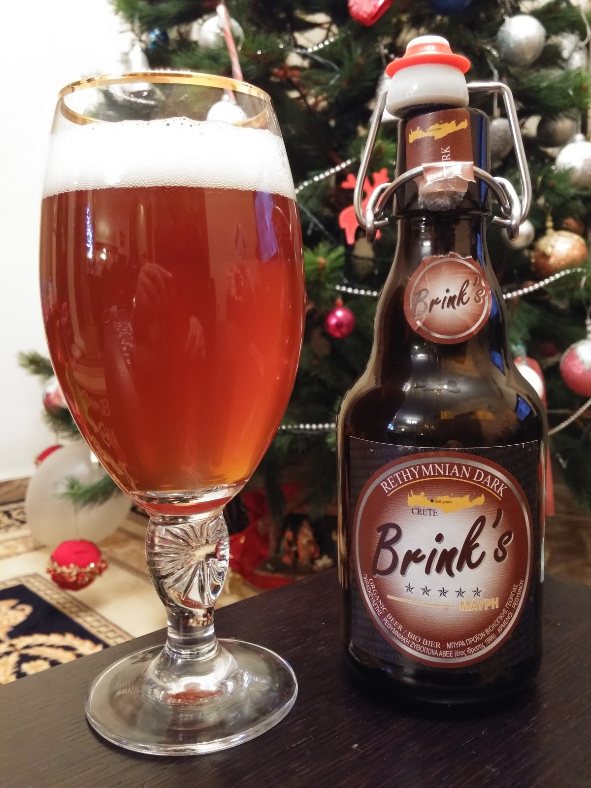 brinks beer crete