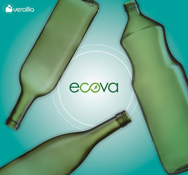 Linha de garrafas ECOVA, da Verallia, alia redução de impactos ambientais e qualidade