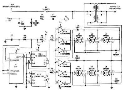 Inverter Circuit Diagram