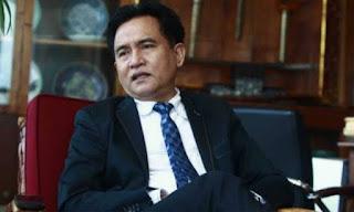 Yusril Resmi Jadi Kuasa Hukum Pasangan Joko Widodo-Ma'ruf Amin pada Pilpres 2019