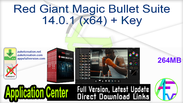 Red Giant Magic Bullet Suite 14.0.1 (x64) + Key