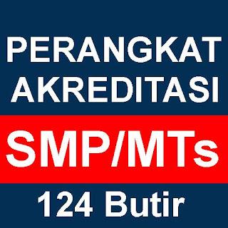 Download Perangkat Akreditasi SMP MTs Terbaru 2018