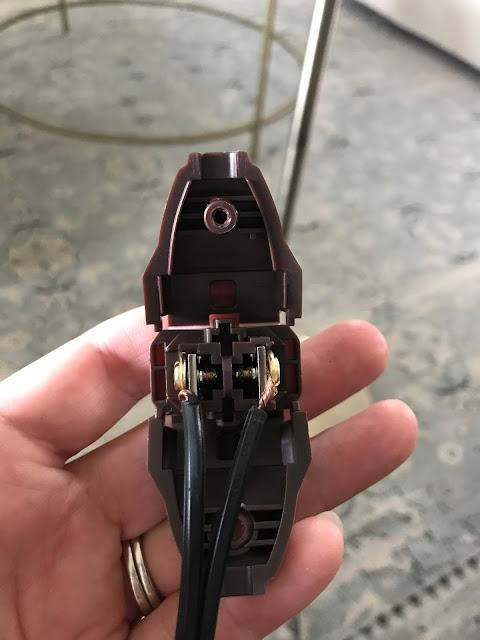 Replacing lamp plug tutorial