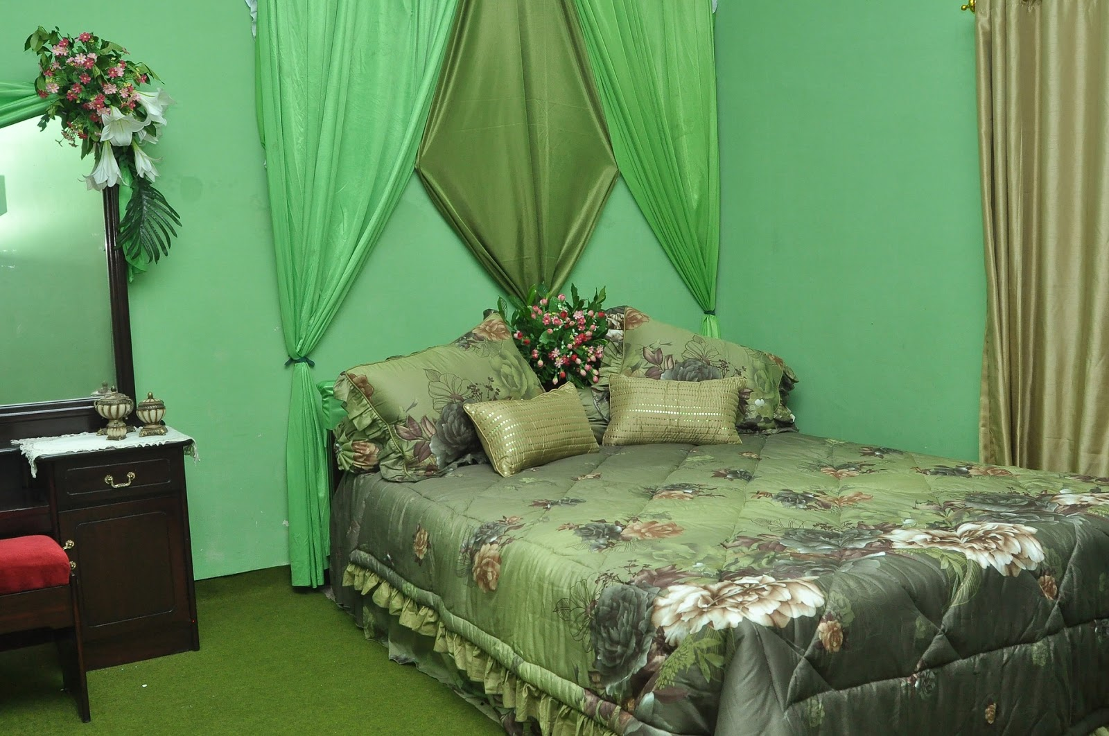 Dekorasi Kamar Tidur Pengantin Romantis Kekinian Saat Ini
