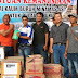 Ketua FSPM - ASD  bersama Anggota DPRD Kotabaru Serahkan Bantu ke Pulau Sebuku
