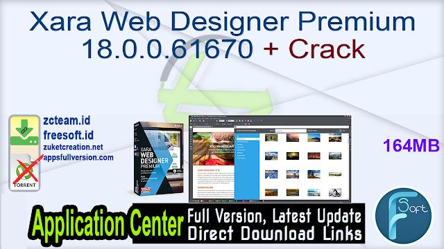 Xara Web Designer Premium 18.0.0.61670 + Crack