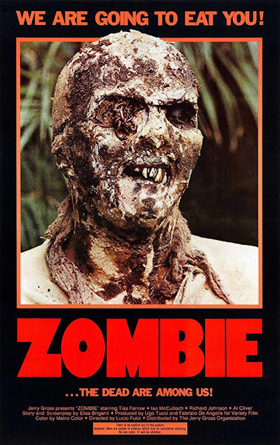 Zombie Zombi 2 1979 movie poster Lucio Fulci