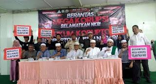 Hari Ini, Massa Gabungan PA 212 Demo Berantas Mega Korupsi di Depan Istana