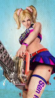 Lollipop Chainsaw Juliet Cheerleader Mobile HD Wallpaper