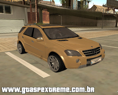 Mercedes-Benz ML 63 para grand theft auto