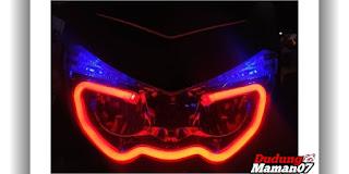 Tampilan Modifikasi Lampu Motor Nmax 155