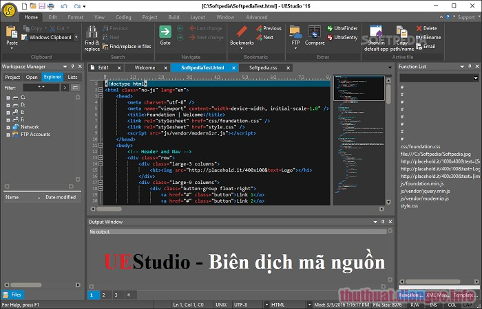 Download IDM UEStudio 19.10.0.14 Full Crack