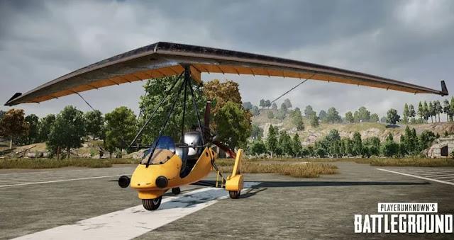 تجربة الطائرة الشراعية التي تعمل