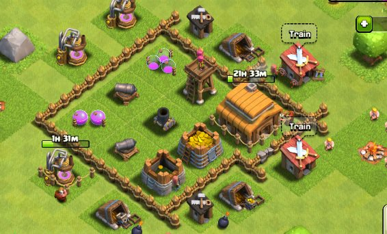 TH 3 Clash of Clan