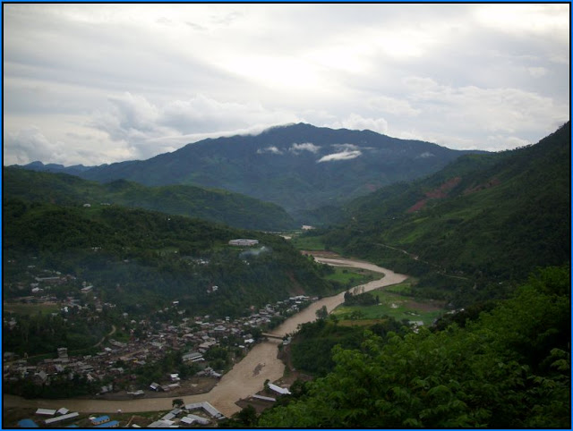 Khaupum Valley of Noney District of Manipur