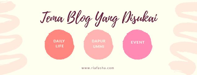 tema tema blog yang disukai untuk dituliskan